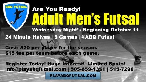 Fall Adult Futsal
