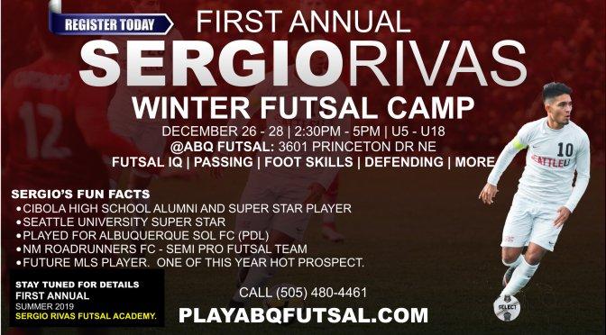 Register Today | Sergio Rivas Futsal Camp