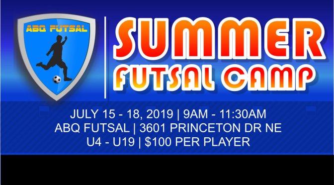 summer futsal camp