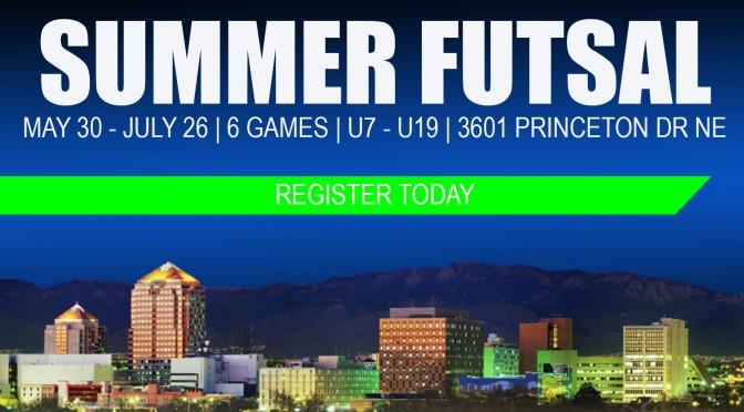 Summer futsal on hold.  Join our summer futsal camps