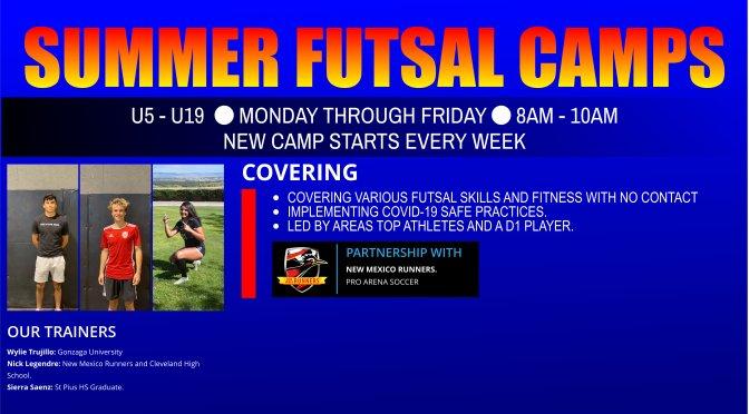 SUMMER FUTSAL CAMPS
