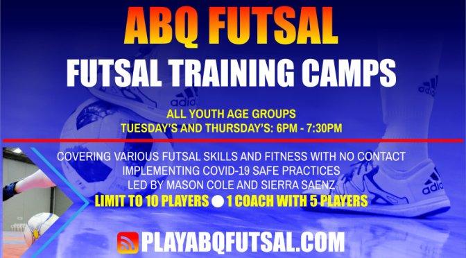 futsal camps – training